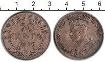 Изображение Монеты Ньюфаундленд 50 центов 1919 Серебро