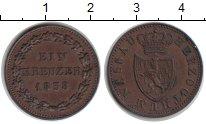 Изображение Монеты Нассау 1 крейцер 1838 Медь XF