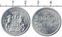 Изображение Монеты Гамбург 200000 марок 1923 Алюминий XF Нотгельд.
