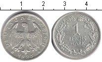 Изображение Монеты Веймарская республика 1 марка 1925 Серебро XF