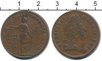 Изображение Монеты Франция жетон 0 Медь XF Людовик
