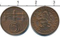 Изображение Монеты Чехословакия 5 хеллеров 1932 Медь XF