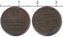 Изображение Монеты Саксония 1 хеллер 1820 Медь  Саксен-Хольдбургаузе