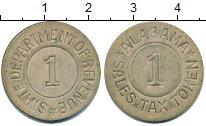 Изображение Монеты США жетон 0 Кожа