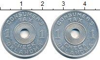 Изображение Монеты США жетон 0 Алюминий
