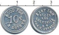 Изображение Монеты США жетон 0 Алюминий  Жетон для пицы