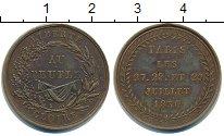 Изображение Монеты Франция жетон 1830 Медь
