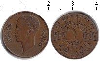 Изображение Монеты Ирак 1 филс 1937 Медь XF