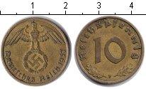 Изображение Монеты Третий Рейх 10 пфеннигов 1937 Медь XF