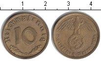 Изображение Монеты Третий Рейх 10 пфеннигов 1938 Медь XF