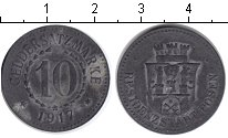 Изображение Монеты Нотгельды 10 пфеннигов 1917 Цинк  Позен.