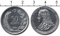 Изображение Монеты Турция 50 курушей 1980 Медно-никель XF