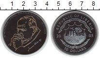 Изображение Монеты Либерия 10 долларов 2005 Серебро VF