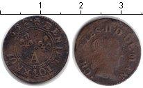 Изображение Монеты Франция 1 двойной торнуа 1652 Медь VF