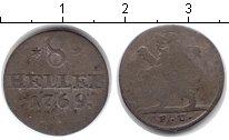 Изображение Монеты Гессен-Кассель 8 хеллеров 1769 Серебро