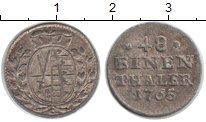 Изображение Монеты Саксония 1/48 талера 1765 Серебро VF