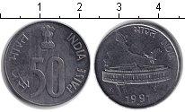 Изображение Барахолка Индия 50 пайс 1991 Железо XF