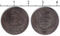 Изображение Монеты Вюртемберг 6 крейцеров 1811 Серебро VF