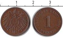 Изображение Монеты Германия Германия 1901 Медь XF