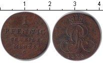Изображение Монеты Брауншвайг-Люнебург-Каленберг-Ганновер 1 пфенниг 1828 Медь XF