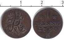 Изображение Монеты Пруссия 1 пфенниг 1790 Серебро
