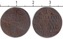 Изображение Монеты Мекленбург-Шверин 1 шиллинг 1810 Медь VF