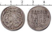 Изображение Монеты Зальцбург 4 крейцера 1692 Серебро