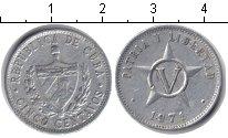 Изображение Дешевые монеты Куба 5 сентаво 1971 Алюминий VF регулярка