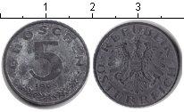 Изображение Барахолка Австрия 5 грош 1965 Цинк VF