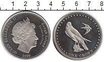 Изображение Монеты Тристан-да-Кунья 1 крона 2009 Медно-никель UNC-
