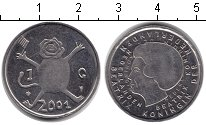 Изображение Монеты Нидерланды 1 гульден 2001  XF
