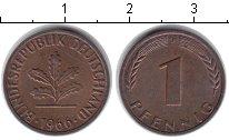 Изображение Монеты ГДР 1 пфенниг 1966 Медь XF