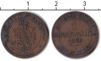 Изображение Монеты Саксония 1 пфенниг 1866 Медь VF