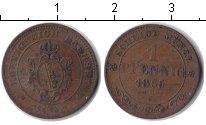 Изображение Монеты Саксония 1 пфенниг 1865 Медь VF
