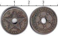 Изображение Монеты Бельгийское Конго 5 сентим 1910 Медно-никель