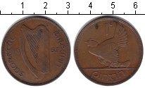 Изображение Монеты Ирландия 1 пенни 1937 Медь XF