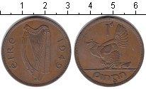 Изображение Монеты Ирландия 1 пенни 1949 Медь XF
