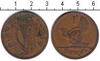 Изображение Монеты Ирландия 1 пенни 1950 Медь