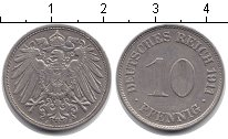 Германия 10 пфеннигов 1911 Медно-никель