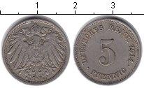 Изображение Монеты Германия 5 пфеннигов 1914 Медно-никель XF