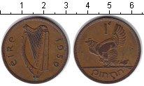 Изображение Монеты Ирландия 1 пенни 1950 Медь XF