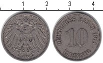 Изображение Монеты Германия 10 пфеннигов 1911 Медно-никель XF