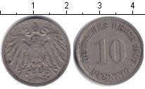 Изображение Монеты Германия 10 пфеннигов 1907 Медно-никель XF