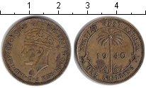 Изображение Монеты Западная Африка 1 шиллинг 1940  XF Георг VI