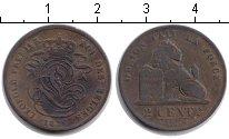 Изображение Монеты Бельгия 2 сантима 1836 Медь VF
