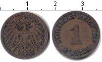 Изображение Монеты Германия 1 пфенниг 1912 Медь XF A