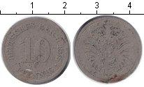 Изображение Монеты Германия 10 пфеннигов 1875 Медно-никель VF