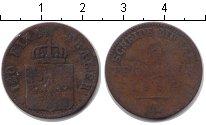 Изображение Монеты Пруссия 3 пфеннига 0 Медь  А