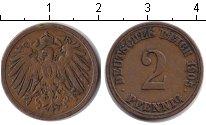Изображение Монеты Германия 2 пфеннига 1905 Медь XF