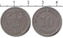 Изображение Монеты Германия 10 пфеннигов 1901 Медно-никель XF